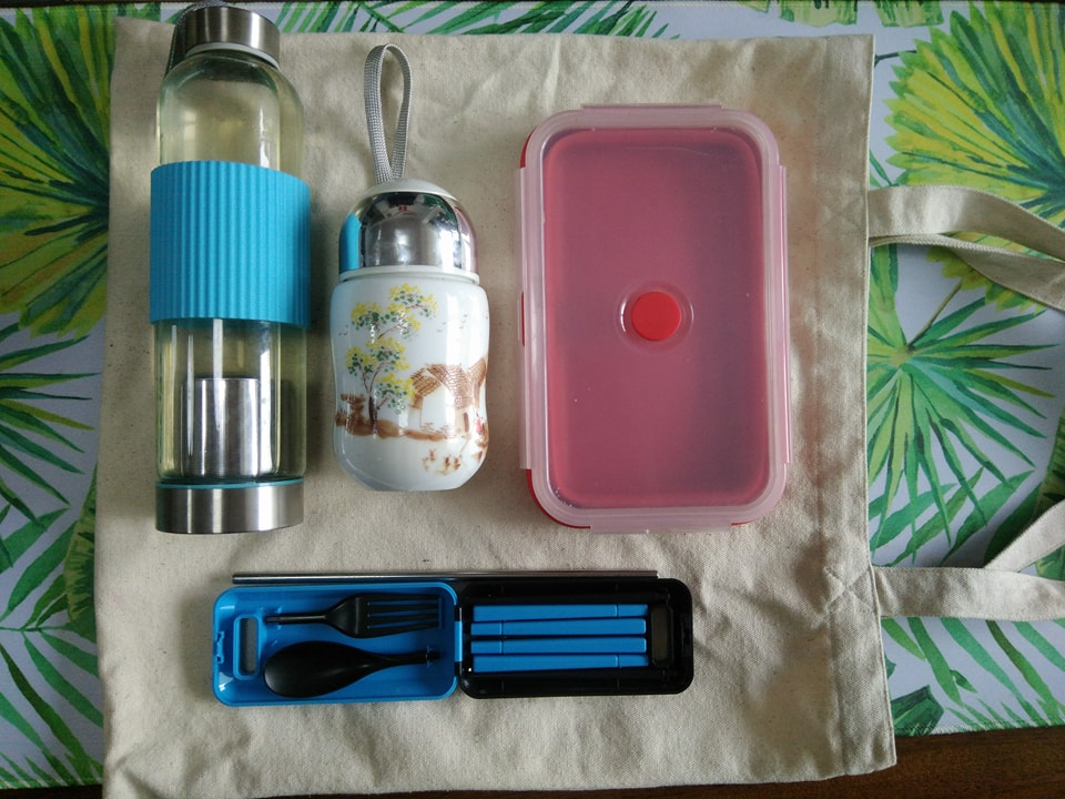 Zero-Waste Kit, Creating a Zero-Waste Kit: It's Easy and Cheap!, The Travel Bug Bite