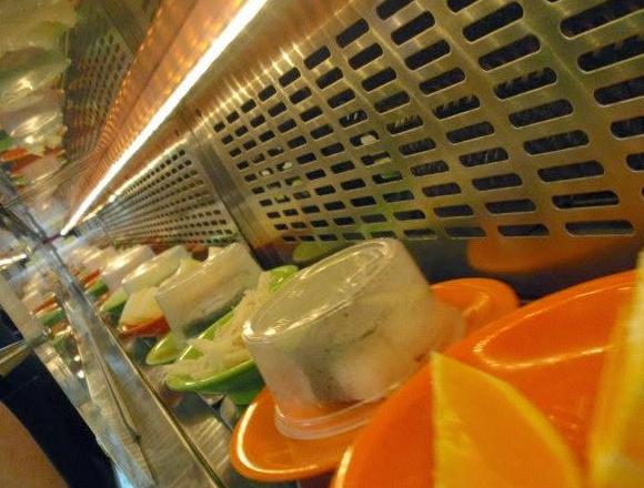 Chasing Running Sushi in Prague