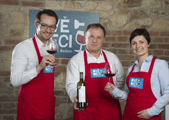 French wine events offer a choice of wax celebrities or sushi