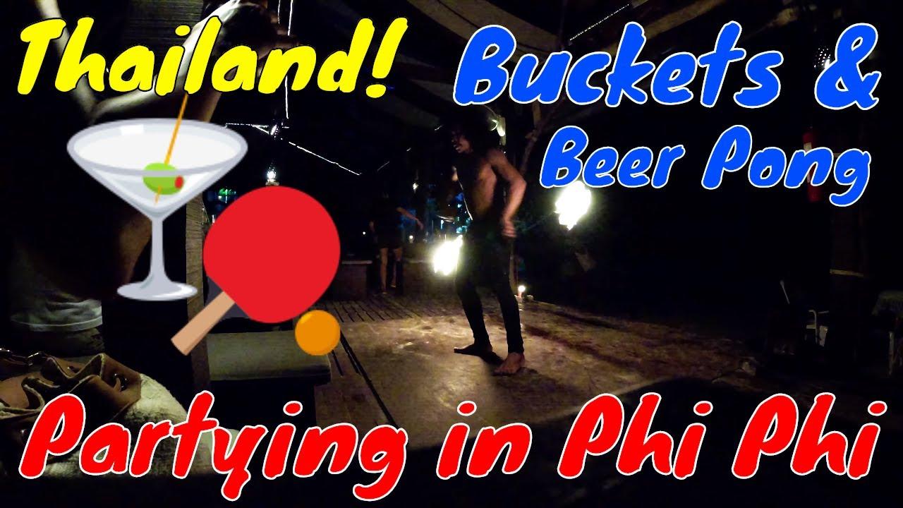 , Phi Phi Parties: Buckets & Beer Pong (Video), The Travel Bug Bite