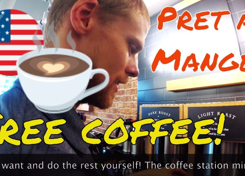 , Free Coffee in NYC: Pret A Manger, The Travel Bug Bite, The Travel Bug Bite