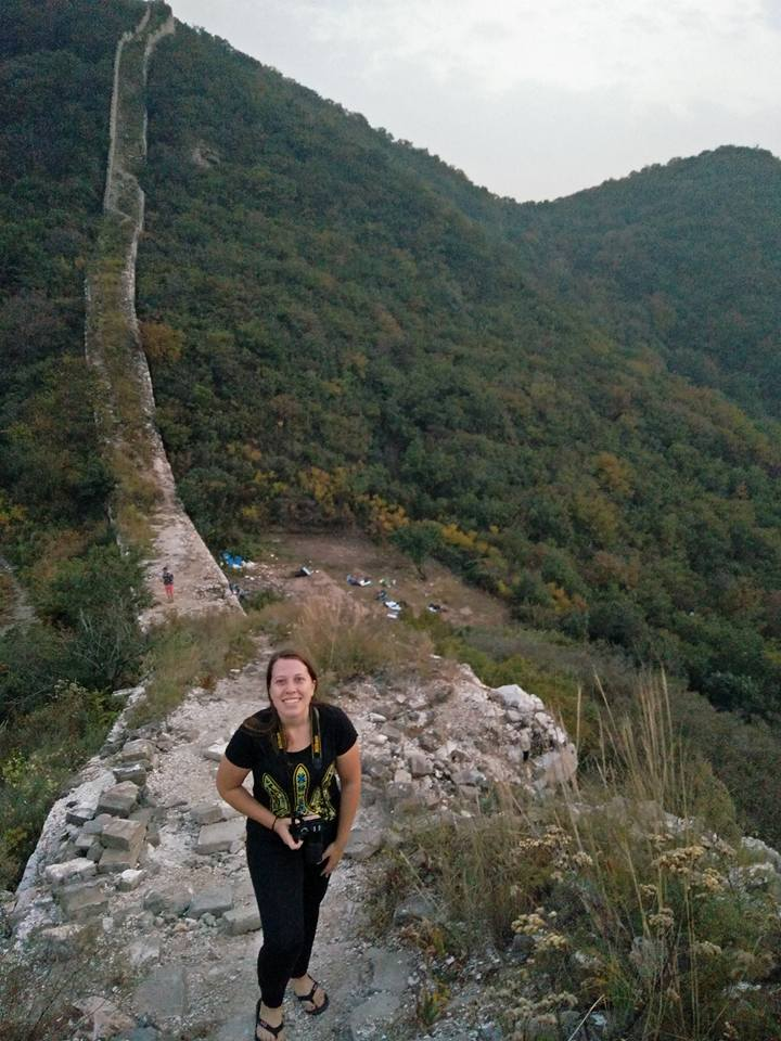 , Camping on the Great Wall of China