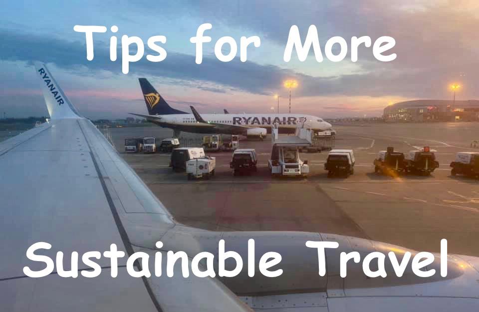 sustainable travel, Sustainable Travel 101: Flying Green(er), The Travel Bug Bite