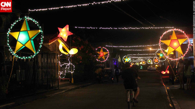 Christmas Lanterns in the Philippines, Christmas Lanterns in the Philippines Have a Moving History, The Travel Bug Bite
