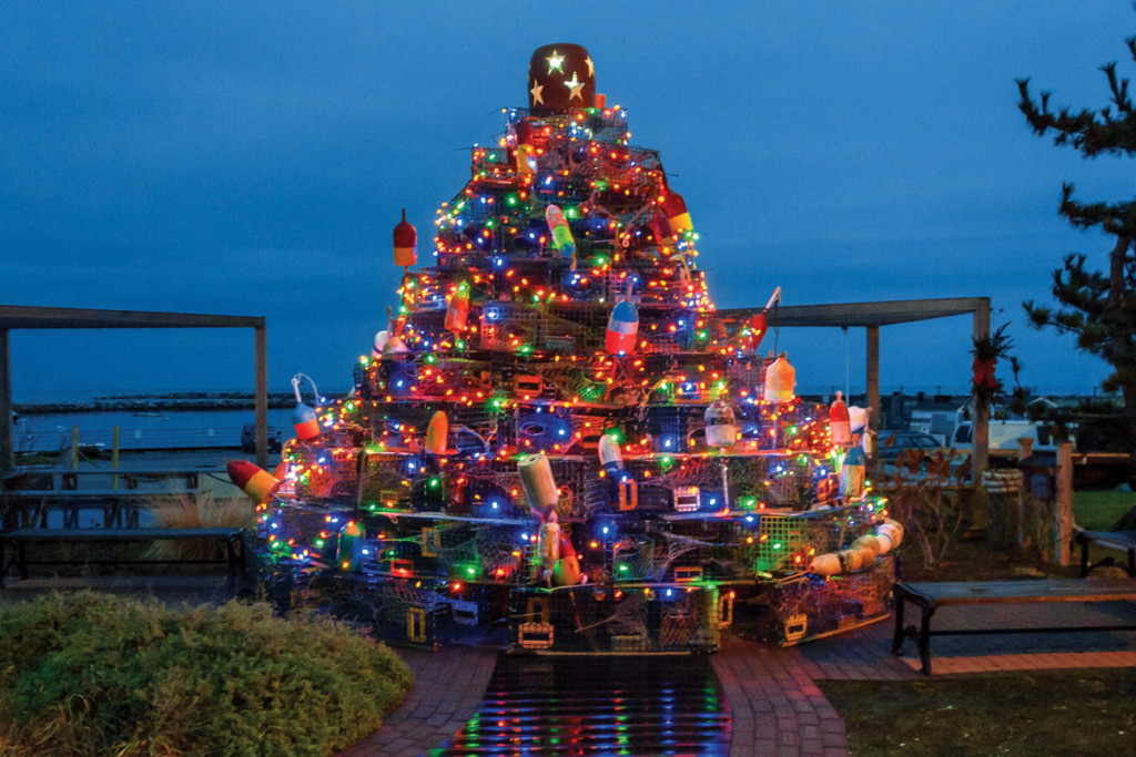 Block Island Tradition, Lobster Pot Christmas Tree: Block Island Tradition, The Travel Bug Bite