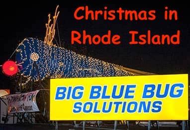 Big Blue Bug, Big Blue Bug: Rudolf the Red-Nosed… Termite – Christmas in RI, The Travel Bug Bite