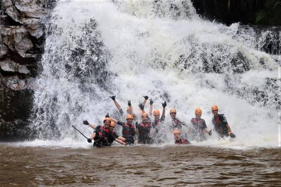 Canyoneering in Da Lat, Vietnam