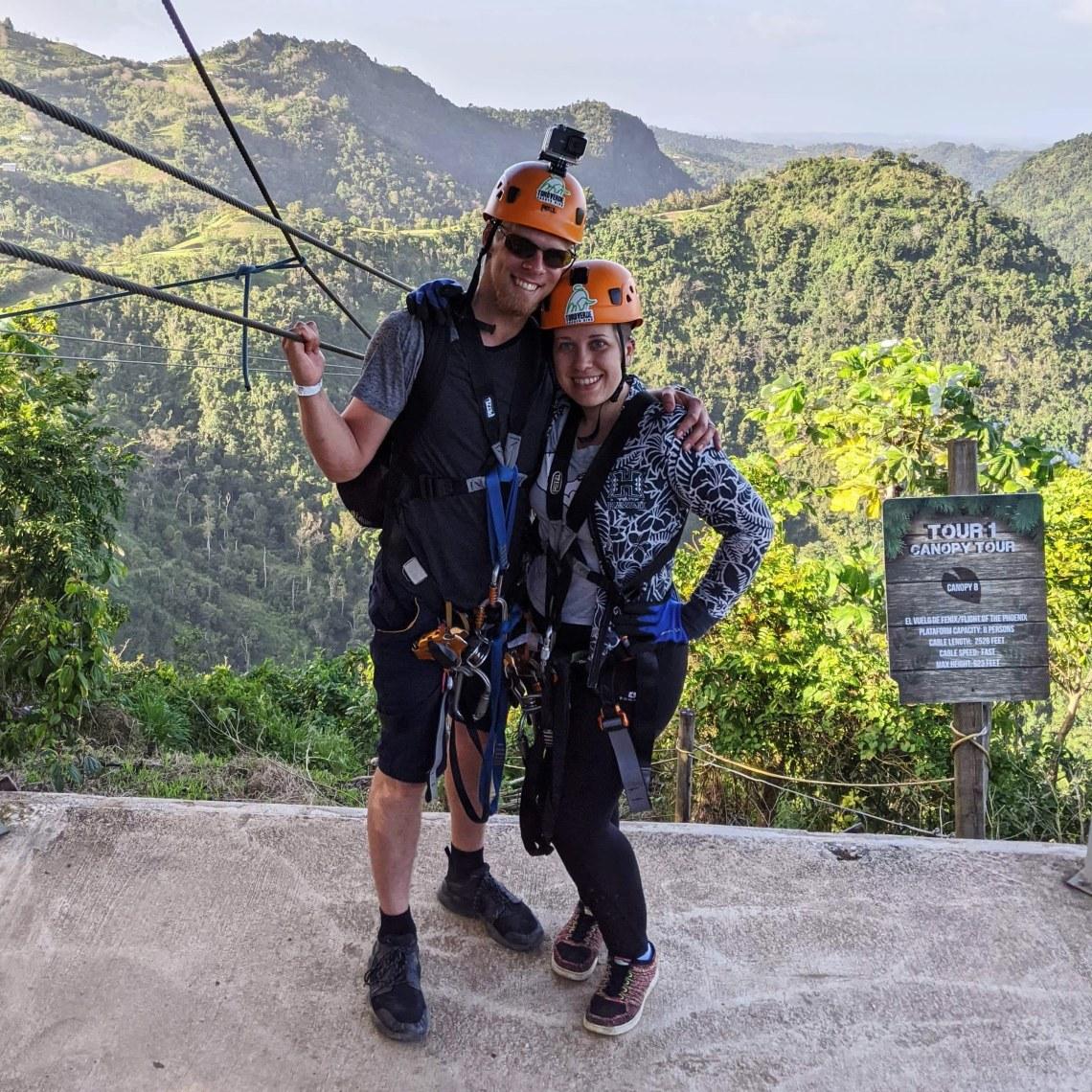 Toroverde, Toroverde, Puerto Rico: $99 Zip Line Day Pass, The Travel Bug Bite
