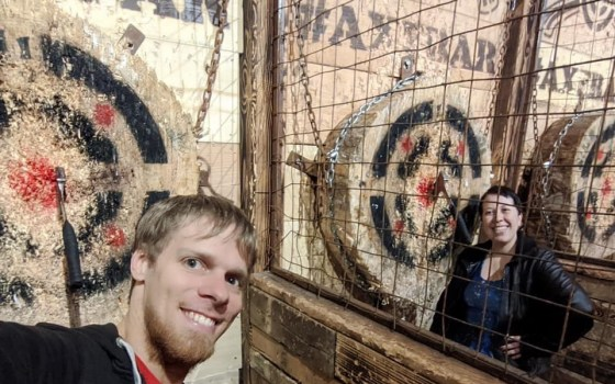 Axe Throwing, RI