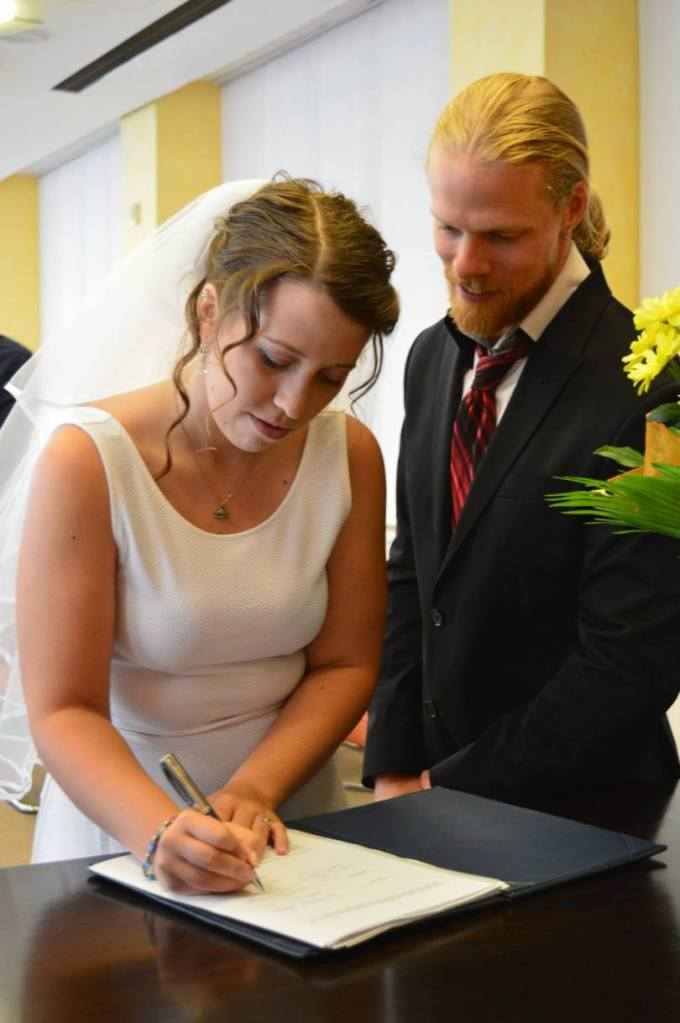 married, Married for Four Years: Moët & Snail Cake, The Travel Bug Bite
