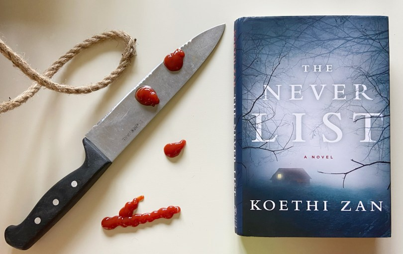 The Never List, The Never List by Koethi Zan: Book Review, The Travel Bug Bite, The Travel Bug Bite