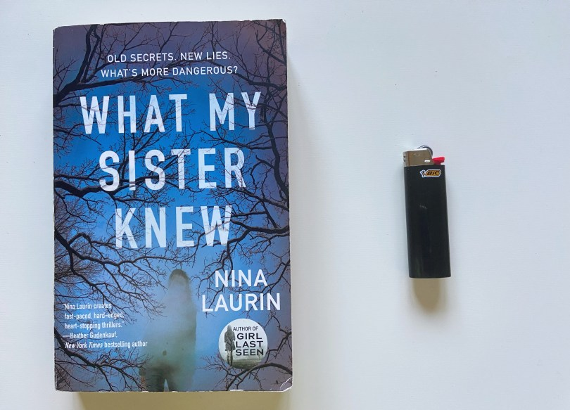 What My Sister Knew by Nina Laurin, What My Sister Knew by Nina Laurin: Book Review, The Travel Bug Bite, The Travel Bug Bite