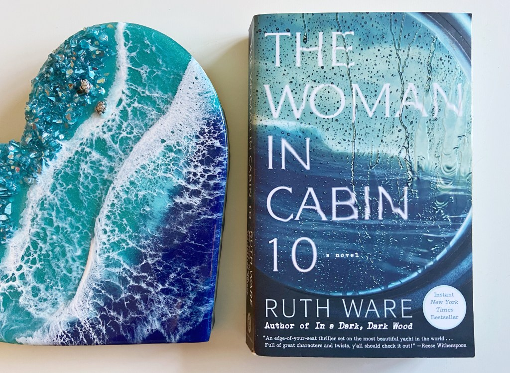 The Woman in Cabin 10 by Ruth Ware, The Woman in Cabin 10 by Ruth Ware: Book Review, The Travel Bug Bite