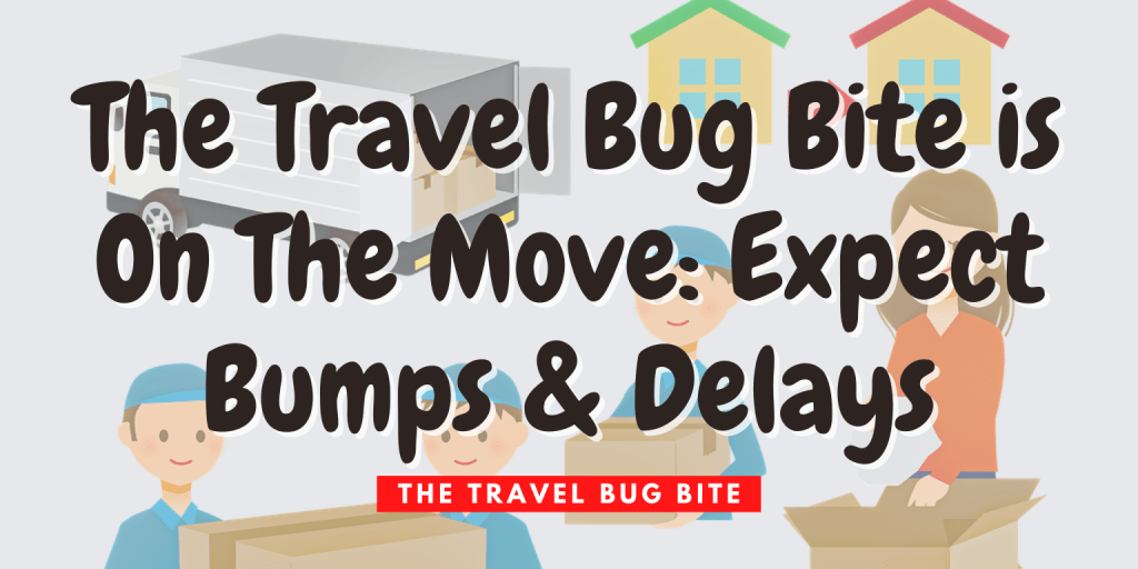 , The Travel Bug Bite is On The Move: Expect Bumps & Delays, The Travel Bug Bite