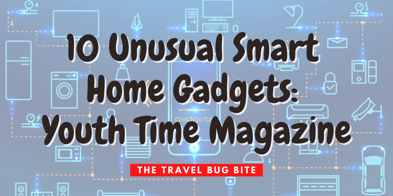 , 10 Unusual Smart Home Gadgets: Youth Time Magazine, The Travel Bug Bite