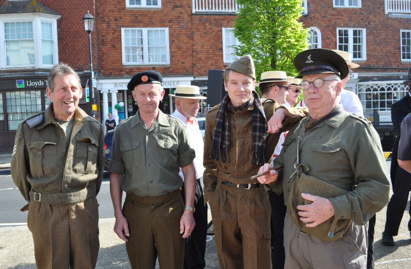 Dad's Army at Battle Marbles