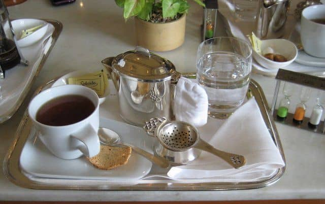 The Taj Palace Tea Lounge