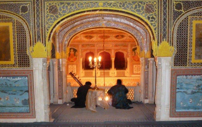 At Samode Palace, Jaipur