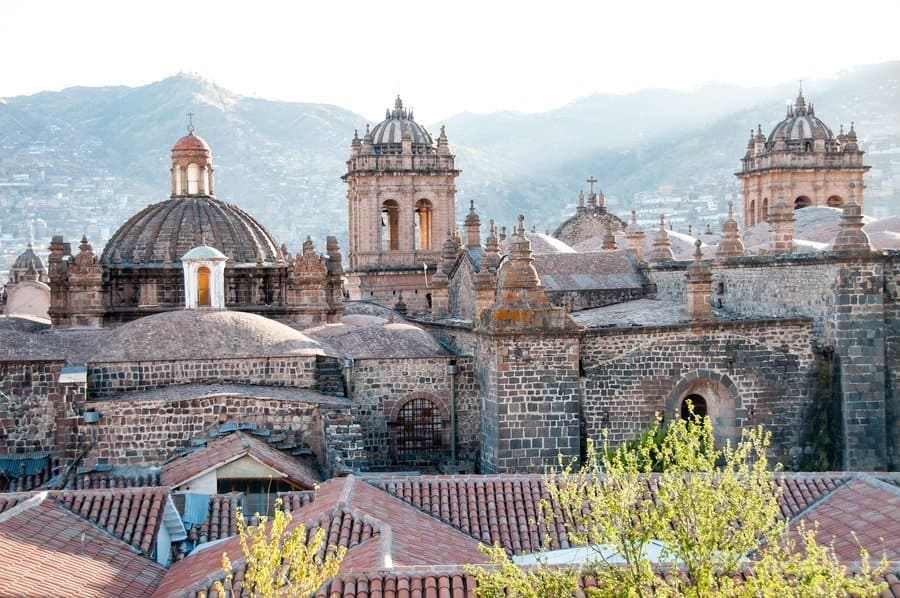 The Cathedral roof, Cusco