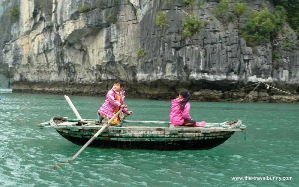 The Friday Photo – Boat Children Halong Bay