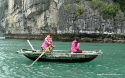The Friday Photo – Boat Children Halong Bay
