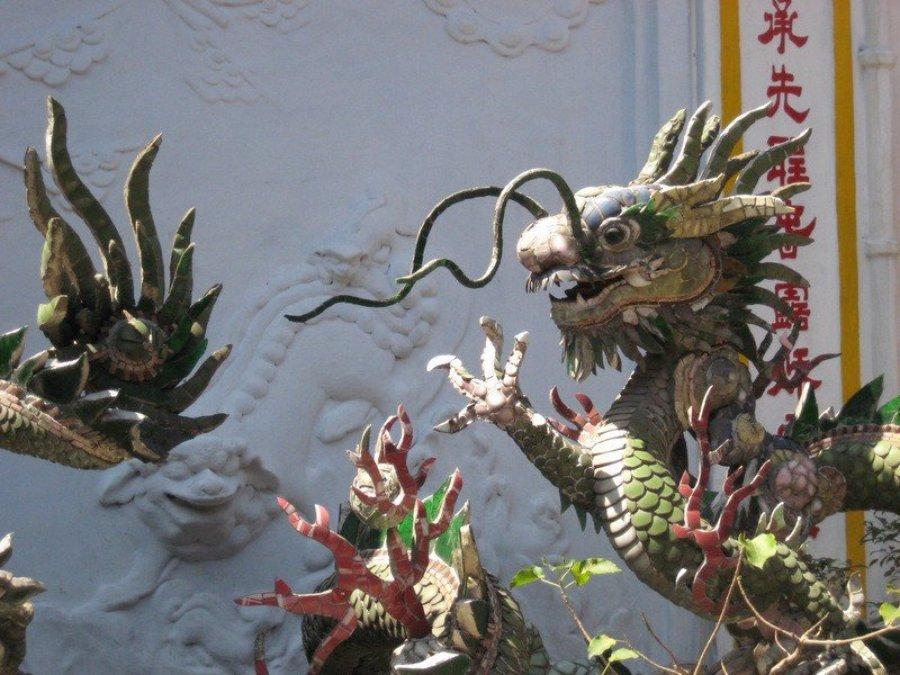 Vietnamese Temple Dragons