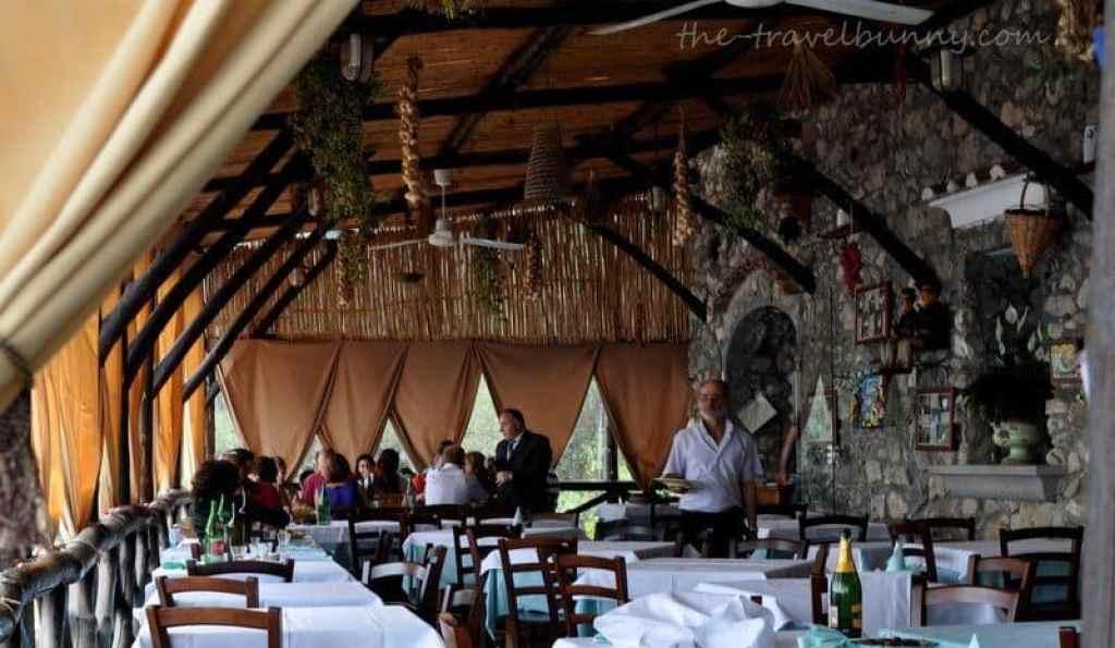 La Tagliata, Positano Restaurant