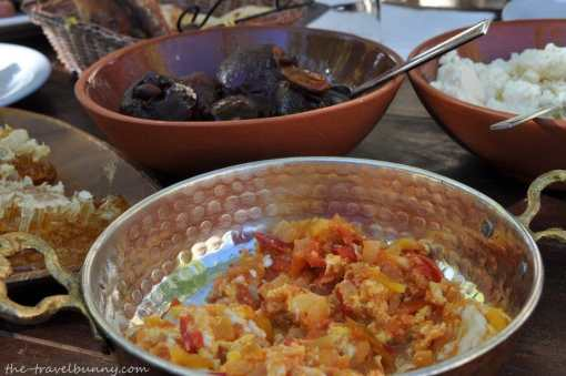 Turkish dish of eggs - Menemen