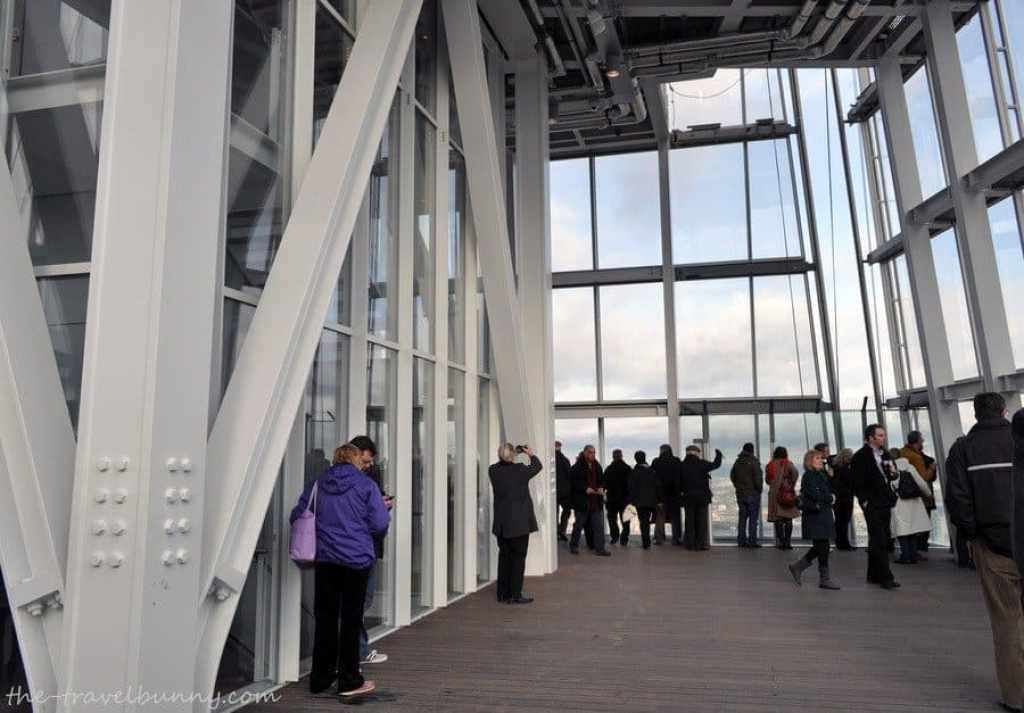 The Shard - Open-air viewing platform, Floor 72