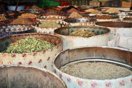 Spices in Taroudant Souk