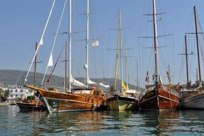 Bodrum, Boats and a bit of a Barter