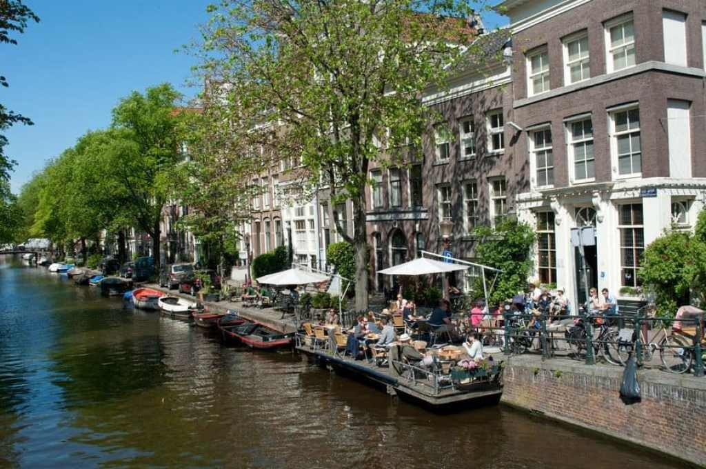 Egelantiersgracht in the Jordaan