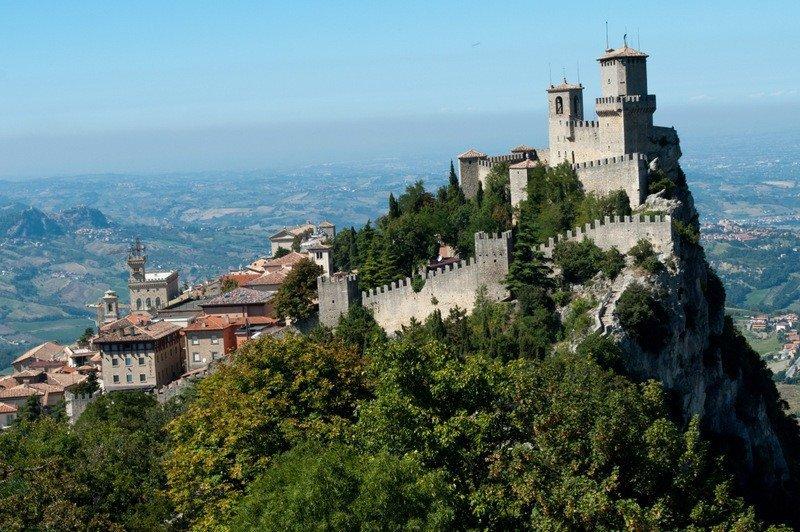 The Guaita Tower, San Marino