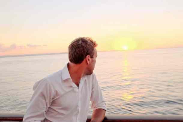 Ben Fogle on Board Celebrity Silhouette