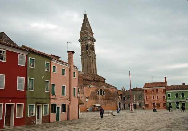 Church of San Martino, Burano, Italy
