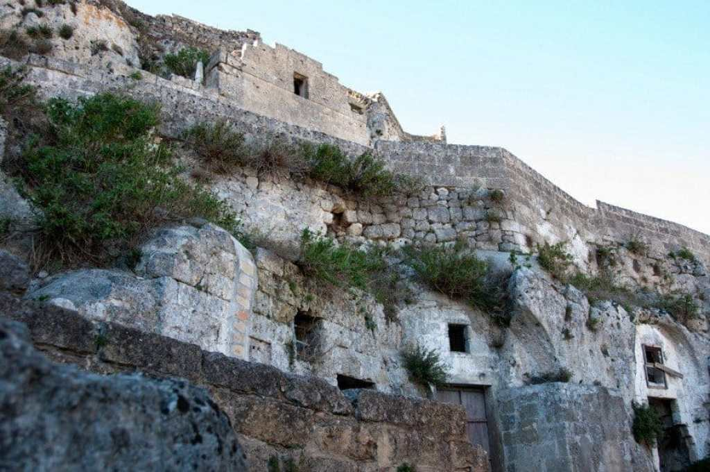 Disused Cave Dwellings, Matera