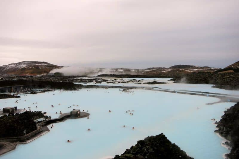 View over The Blue Lagoon, Iceland