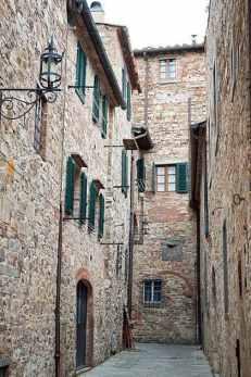 Medieval Walls of San Donato,Tuscany