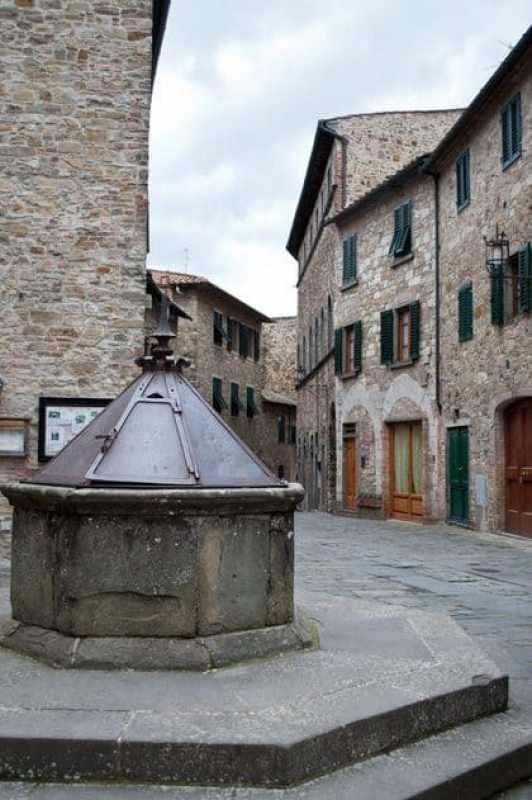Octagonal Well in San Donato in Poggio, Tavarnelle, Tuscany