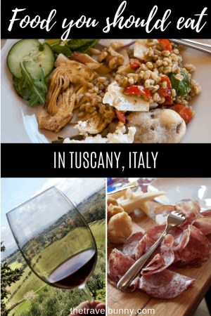 Food in Tuscany