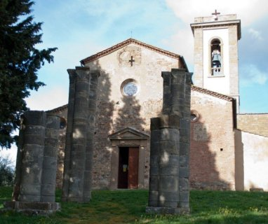 Bapitistry and Pieve Romanica at Sant'Appiano