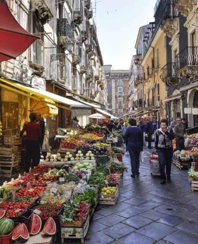 Catania's Food Market