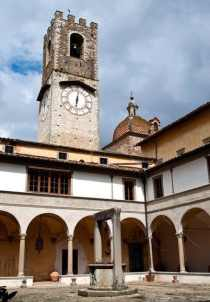 Clocktower at Badia a Passignano