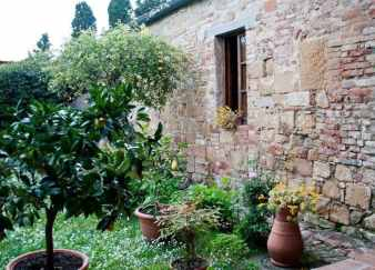 The Garden at Pieve Romanica, Sant'Appiano