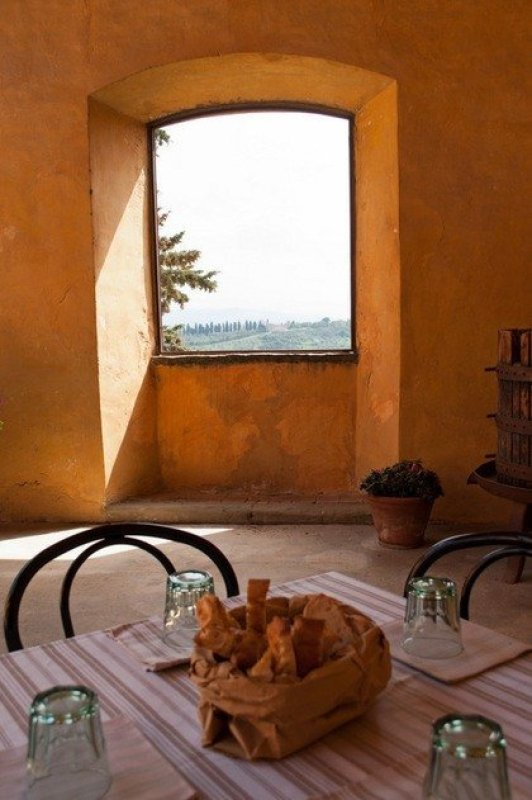 View from a Tuscan Table