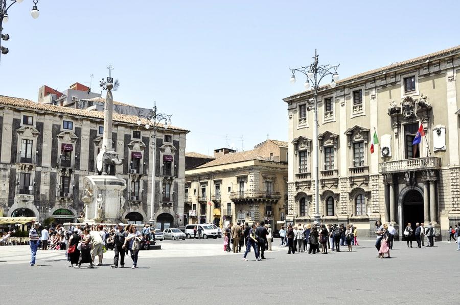 Piazza Duomo Catania, Sicily