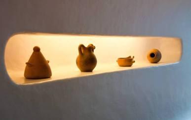 Pottery in Mirador del Rio, Lanzarote