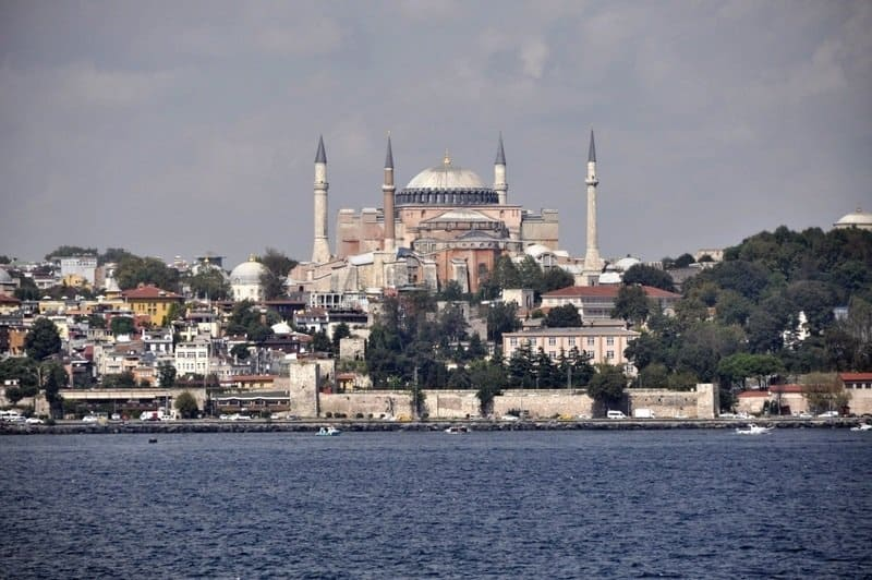 Hagia Sofia from The Bosphorus
