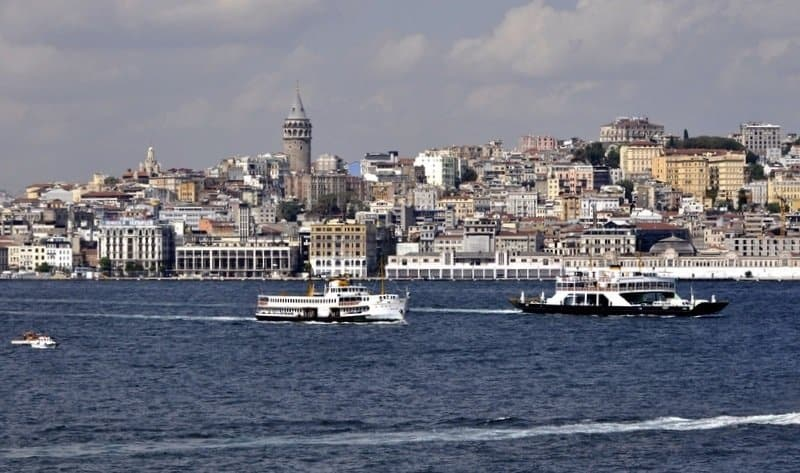 View of Istanbul from the Bosphorus