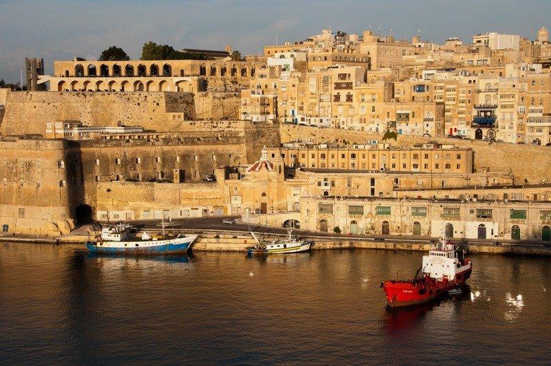 The Grand Harbour, Valletta